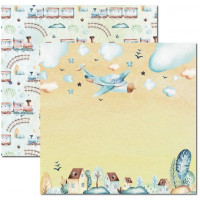 Papel My Baby Boy 1 - 180g Dupla Face 30.5x30.5