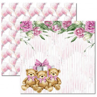 Papel My Baby Girl 2 - 180g Dupla Face 30.5x30.5