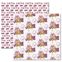 Papel My Baby Girl 4 - 180g Dupla Face 30.5x30.5