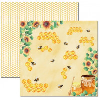 Papel Honey Bee 5 - 180g Dupla Face 30.5x30.5
