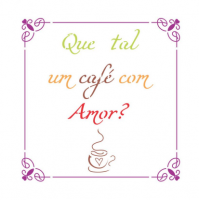 Stencil Que tal um café - 13x17