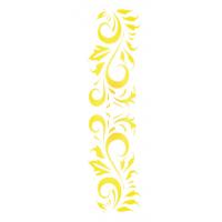 Stencil Arabesco - 12x28