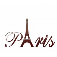 Stencil Paris - 15x15..