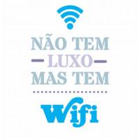 Stencil  Não tem luxo mas tem wi-fi - 15..