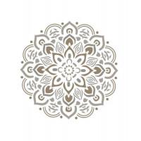 stencil mandala - 18x23
