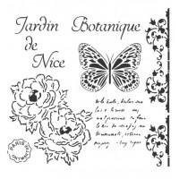 Stencil Jardin de Nice - 25x25