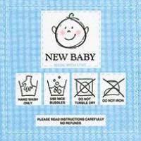 guardanapo new baby blue - 2 unid..