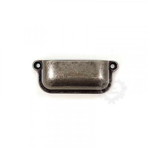 Puxador Retangular Liso  - 2 unid