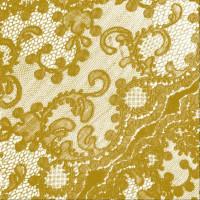 guardanapo renda dourada - 2 unid