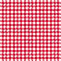 guardanapo estampa xadrez vermelho - 2 unid