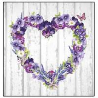 Guardanapo Purple Heart - 2 unid