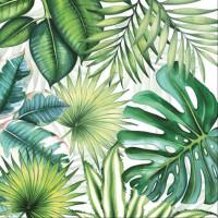 guardanapo folhagem tropical - 2 unid