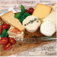 Guardanapo Palette of Cheeses - 2 unid..