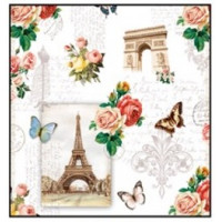 Guardanapo Paris Monuments - 2 unid