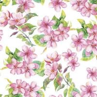Guardanapo Cherry Blossom Rose - 2 unid..