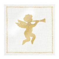 guardanapo angel fashion gold - 2 unid..