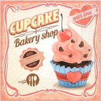 guardanapo cupcake - 2 unid