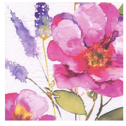 guardanapo rosa grande - 2 unid