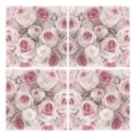 Guardanapo Vintage Rosas - 2 unid...