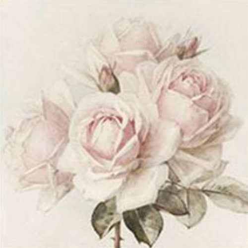Guardanapo Vintage  rosa gd- 2 unid.