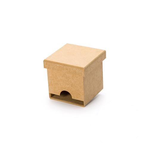 Caixa de Chá mini com tampa 9x9x8,6