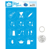 Stencil Mini Cozinha ..