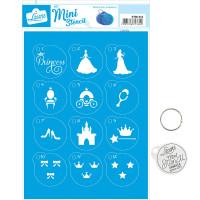 Stencil Mini Princesa