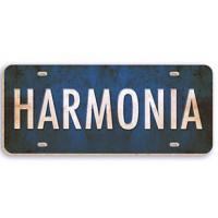 harmonia - aplique adesivado - 8 x 3 cm