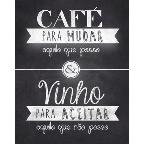 DECOR HOME - Placa Café para.. 19x24