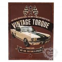 DECOR HOME - Carro antigo Vintage torque..