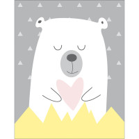 DECOR HOME - Minimalista Infantil Urso..