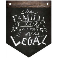DECOR HOME - Placa Flamula Toda familia ..