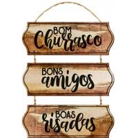 DECOR HOME - Bom churrasco - Boa cerveja..