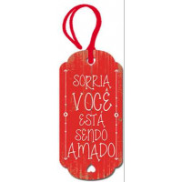 DECOR HOME TAG 2 - Sorria, voce está sen..