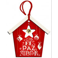 DECOR HOME TAG NATAL - Casinha Vermelha ..