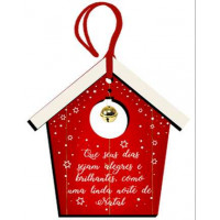 DECOR HOME TAG NATAL - Casinha Feliz Nat..