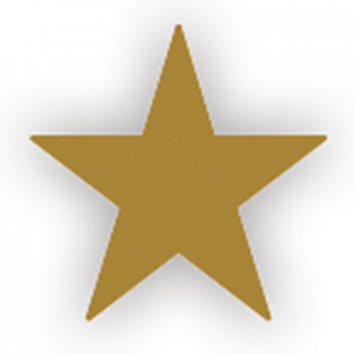 Lacre Estrela Ouro 1 cm