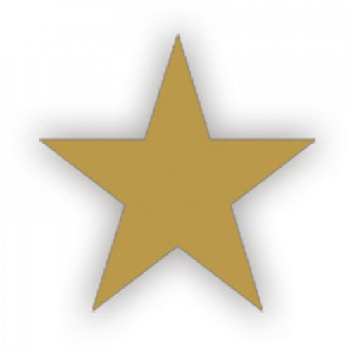 Lacre Estrela Ouro 2 cm