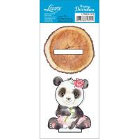Madeira Decorativa - Panda Feminino ..