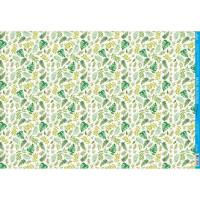 Papel Decoupage - Folhas Verdes - 49x34,..