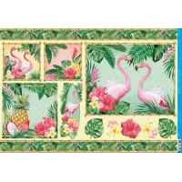 Papel Decoupage - Tropical - 49x34,3 cm..