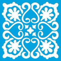 Stencil Azulejo - 10 x 10 cm..