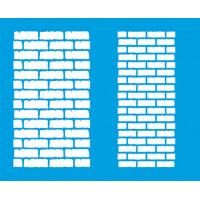 Stencil tijolos médios 17,2x21,1