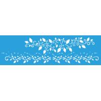 stencil barra azevinhos -8.4 x 28.6