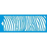 Stencil estampa zebra P 17x6,5..