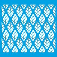 Stencil Estampa de folhas - 20x20 cm
