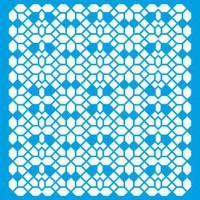 Stencil Estampa Geométrica - 20x20 cm