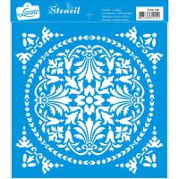 Stencil Azulejo - 20x20 cm ..