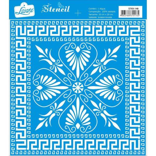 Stencil Azulejo - 20x20 cm