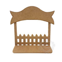 Porta Maternidade Cerca P 30x7x23,5 cm..